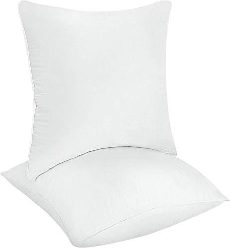 Utopia Bedding da letto decorativa Inserto cuscino quadrato Divano e letto Cuscino Copri Policotone...