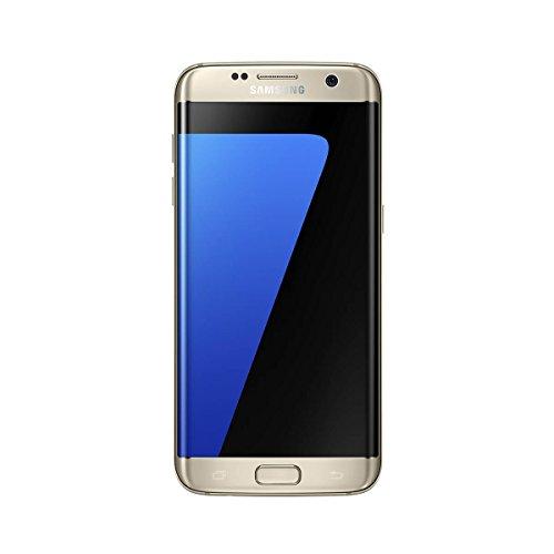 "Samsung Galaxy S7, Smartphone libre de 5.1"" QHD (4 G, Bluetooth, Octa-Core de 2.3 GHz, memoria interna 32 GB, 4 GB RAM, pantalla Super Amoled, cámara de 12 MP, Android 6.0), Color Dorado- Versión española"
