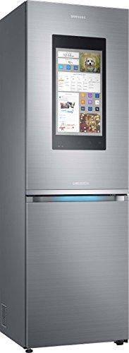 Samsung RB38M7998S4/EF Frigorifero Combinato Family Hub 2.0, 382L, Premium Inox [Classe di...