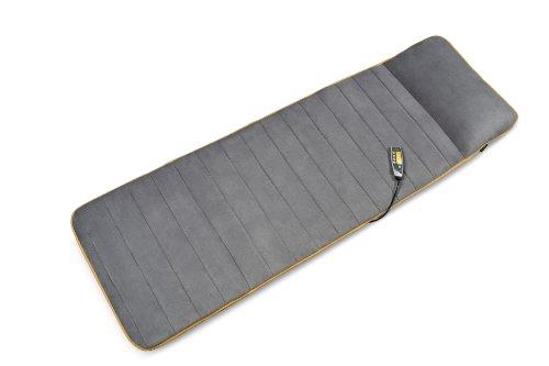 Medisana MM 825 Massageauflage 88955, mit 5 Programmen und 4 Massagezonen, Massageliege mit zuschaltbarer Wärmefunktion, angenehmem Fleece-Bezug und unterschiedlichen Intensitätsstufen