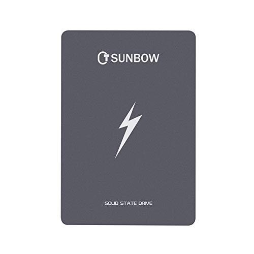 TCSUNBOW 60GB 120GB 256GB 2.5 Pollici SSD con 256M di Memoria SATAIII 6GB / s per l'intero Disco...