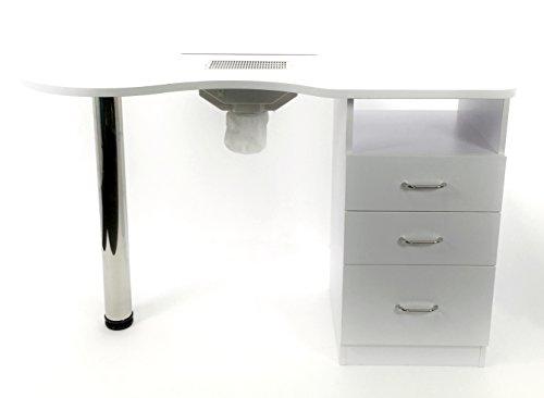 Tavolo unghie manicure 3 cassetti nail ricostruzione tavolino professionale artist studio artist...