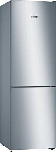 Bosch Serie 4 KGN36VL4A Libera installazione 324L A+++ Acciaio inossidabile frigorifero con...