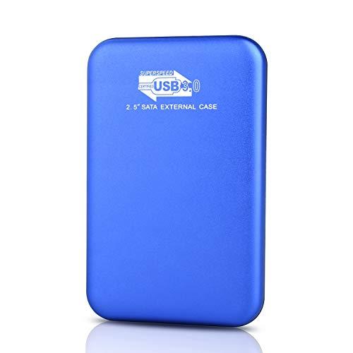 YOOSUN Hard Disk 2tb Esterno,Ultra Slim Hard Disk Esterno Portatile USB3.0 SATA HDD Storage per PC,...