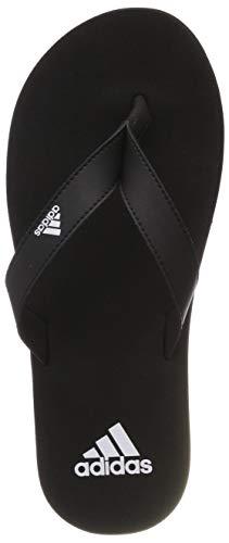 adidas Eezay Flip Flop, Scarpe da Spiaggia e Piscina Uomo, Nero Ftwr White/Core Black, 38 EU