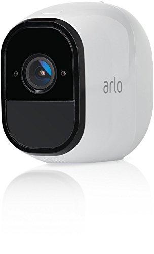 317h-T4CzcL [Bon Plan Smarthome!]  Netgear -  VMS4330-100EUS - Arlo Pro - Pack de 3 Caméras, Smart caméra HD 720p, grand angle 100% Sans Fils - avec b...
