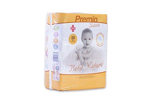 Pannolini Bebè Nature Maxi Plus taglia 14/25 kg cartone 120 pannolini