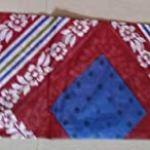 SAMU Women's Cotton Printed Unstitched Dress Material Salwar Kameez Suit Set (FS1030, Cream Colour, Free Size)