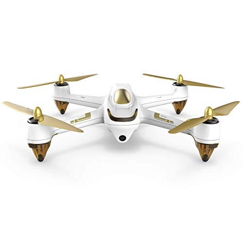 Hubsan H501S X4 5.8G FPV Brushless Dronicon Fotocamera 1080P HD GPS RC Quadricottero nessun trasmettitore Bianco