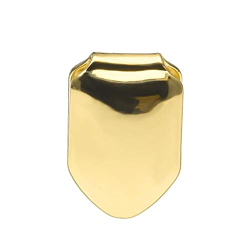 IainStars Golden Small Single Tooth Cap Hip Hop Teeth Grill Teeth Beauty Supplies Kit