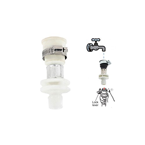 MGS Washing Machine Inlet Hose Faucet Water Tap Adapter Connector