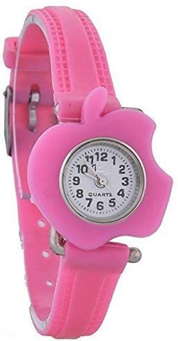 BID Analogue White Dial Girl's Watch with 11 Interchangeable Dial and 11 Strap