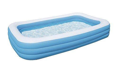Piscina piscinetta per bambini Bestway rettangolare maxi 305x183x56 cm 54009