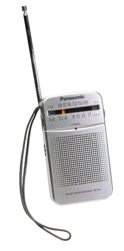 Panasonic RF-P50 Pocket AM/FM Radio Silver