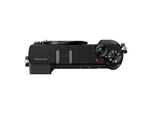 "Panasonic Lumix DMC-GX80 - Cámara digital (12 - 32mm, 16 MP, 4/3"" Live MOS 4592 x 3448 pixeles), color negro"