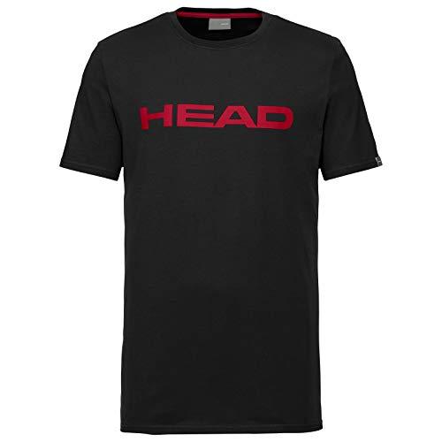 Head Club Ivan T-Shirt Mens Camiseta, Hombre, Negro/Rojo, Extra-Large