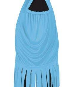Disfraz de monstruo azul adulto