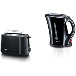 Severin Frühstücksset: Severin AT 2287 Automatik Toaster und WK 3485 Wasserkocher