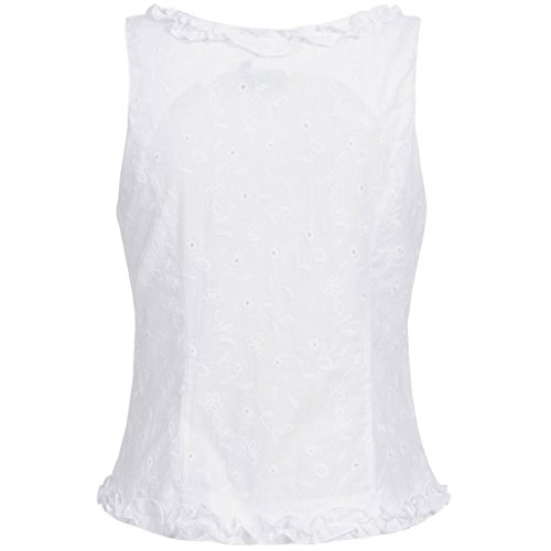 Hess TrachtenMieder Moni in Weiß, Größe:32, Farbe:Weiß - 3