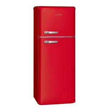 Master A211024114 Libera installazione 157L 51L A+ Rosso frigorifero con congelatore (1000034097)