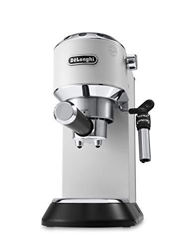 De'Longhi EC685.W Macchina per caffè Espresso Manuale, 1350 W, 2 Litri, 0 Decibel, Acciaio...