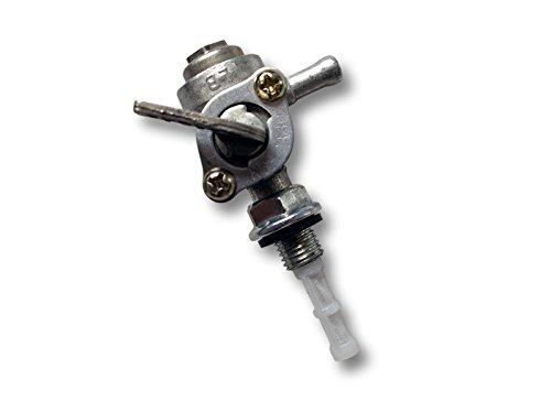 Grifo para Depósito Tanque Combustible Gasolina Válvula Cierre Llave de purga Generadores Repuesto