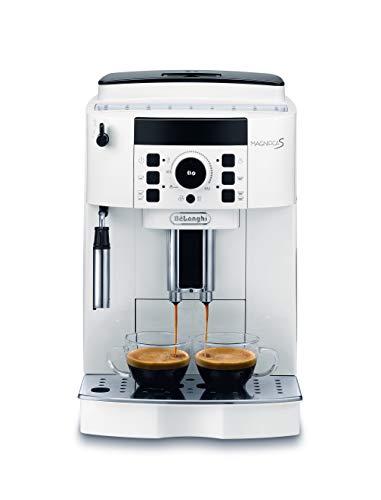 De'Longhi ECAM21.110.W Magnifica S Macchina da caffè Automatica, 1450 W, 1.8 Litri, Bianco