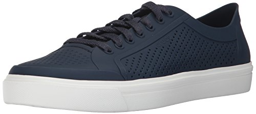 crocs Men's Citilane Roka Court Navy and White Sneakers-10 UK (M11)(11 US) (204872-462)