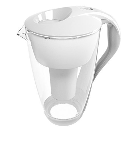 Dafi Crystal (LED) Classic 2L water filter jug (white)