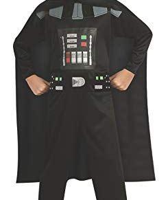 Rubie's - Disfraz sin espada Darth Vader Star Wars de niño 8-10 años 882848-LG