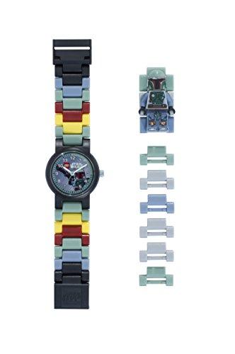LEGO Star Wars 8020448 Orologio da polso componibile per bambini con cinturino a maglie e minifigure...