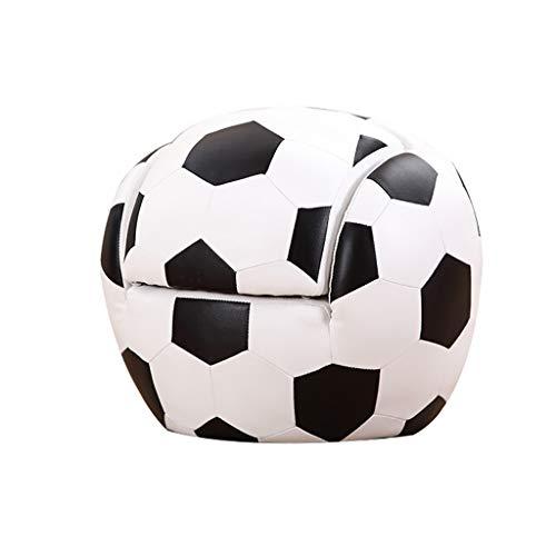 Divano Scuola Materna, Poltrone di Calcio, personalità Creativo per 1-10 Anni Ragazzo Ragazza 52×48×43cm