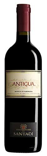 6 bottiglie x 0.75 l - Antigua. Monica di Sardegna Doc, vino rosso sardo prodotto dalla cantina di Santadi