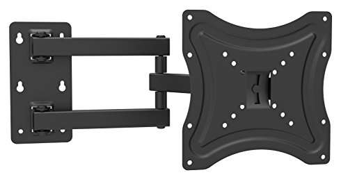 Z C 1335 Economy Corner Cantilever Articulating Arm Swivel & Tilt Full Motion Wall Mount Tv Bracket Stand for Most 13 to 37 Inch for LCD, Led, 3D Tvs 19 22 24 27 28 32 37 Zipp