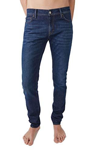 ACNE STUDIOS Herren 30O176blu Blau Baumwolle Jeans