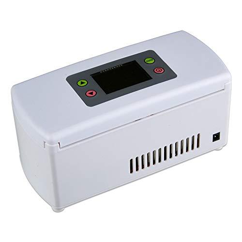 FELICIPP Radiatore Elettrico per Auto e casa - Frigorifero per Auto da 5 Litri, Mini Frigorifero per...