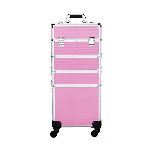 Yaheetech Valigia Valigetta Porta Trucchi Beauty case make up grande da viaggio per estetista...