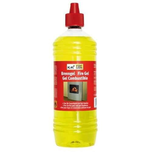 2x 1Litre Fuel Gel for Fireplaces and Fire Pots