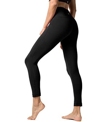 LAPASA Damen Leggings Yoga Sport Pants Lang High Waist L01, Gr.-34/S,...