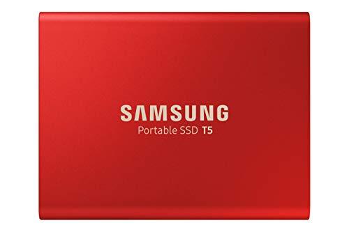 Samsung Memorie MU-PA1T0R SSD Esterno Portatile T5 da 1 TB, USB 3.1