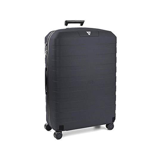Roncato Box 2.0 Trolley Grande - 4 Ruote, 78 Cm, 118 Litri, Antracite