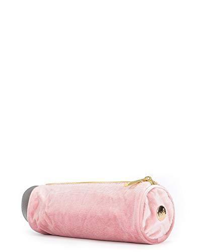 Mi-Pac - Astuccio in velluto, 22 cm, colore: Rosa scuro