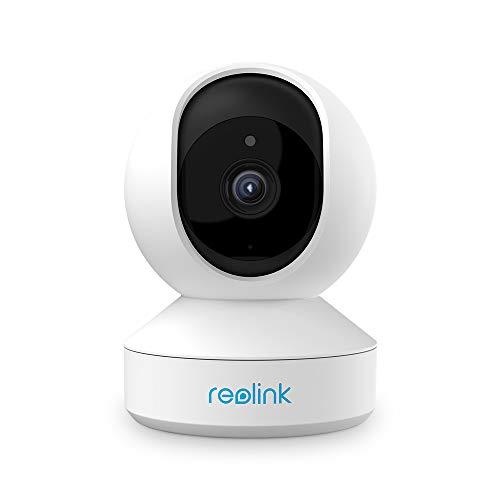 Reolink E1 Pro 4MP Telecamera di Sicurezza Pan Tilt Casa Intelligente 2.4GHz 5GHz Dual-Band WiFi con Audio a Due Vie Avvisi di Movimento Cam IP per Bambini, Animali Domestici