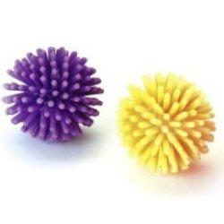 katzeninfo24.de Kerbl Gummi Spike Balls, 3cm, 4Stück