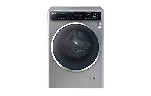 LG F14U1JBS6 lavatrice Libera installazione Caricamento frontale Grigio 10 kg 1400 Giri/min A+++-40%