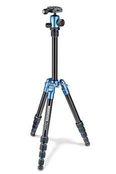 Manfrotto MKELES5BL-BH - Trípode Element Traveller, pequeño con rótula de Bola, Color Azul