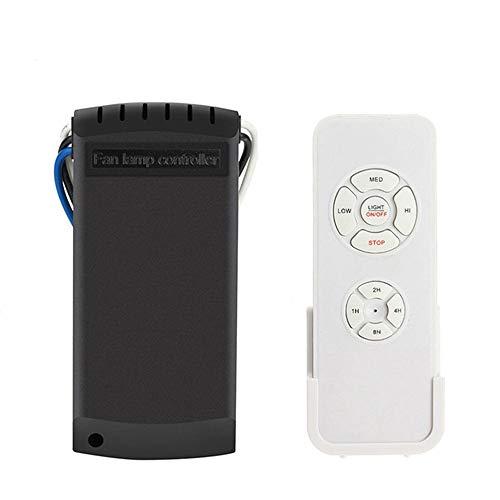 YLX Universale Ventilatore a soffitto Lampada luce Interruttore di controllo del timer Kit...