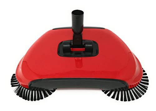 3 in 1 Scopa Automatica Rotante 360 Hand Push con Spazzola Per Casa Pavimento Originale As Seen on...