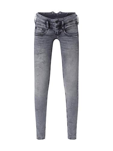 Herrlicher Damen Jeans Pitch Slim Denim Stretch grau 29 32