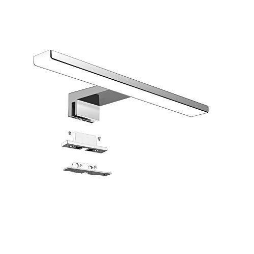 LED Lampada da Specchio 5W Aourow,Specchio Armadio Lampada da Bagno,Luce per Trucco,Lunghezza 30...